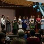 A tagozat tanári kara / Lehrkörperschaft des Klassenzuges (fotó: Zentrum)