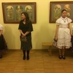 Zentrum-Direktorin Monika Ambach begrüßte die Gäste / Ambach Mónika a Zentrum igazgatónője köszöntötte a  vendégeket