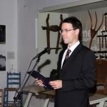 Dr. Schmidtmayer Richárd, a Kuny Domokos Múzeum igazgatója / Dr. Richárd Schmidtmayer, Direktor des Domokos-Kuny-Museums (Fotó: Varga Edit)