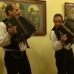 Die Musiker sorgten für tolle Stimmung / A harmonikások gondoskodtak a jó hangulatról