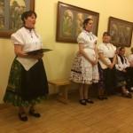 Jusztina Ruff-Stadler stellte den Chor der Kindergärtnerinnen vor / Ruffné Stadler Jusztina mutatta be az óvónők kórusát