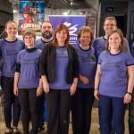 A Zentrum szervező csapata  / Das Organisationsteam des Zentrums