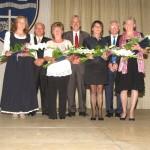 Pedagógusokat tüntettek ki a Budapesti Németek Európa-napján / Am Europa-Tag der Deutschen in Budapest wurden Pädagoginnen ausgezeichnet (Fotó/Foto: Bajtai László)