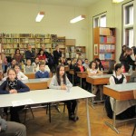 Fővárosi szavalóveersenyt tartottak február 11-én  / Hauptstädtischer Rezitationswettbewerb am 11. Februar (Fotó: Bajtai László)