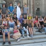 Lengyel és magyar fiataloknak szerveztek nyelvi tábort / Für Jugendliche aus Polen und Ungarn wurde ein Sprachcamp organisiert