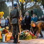 Ökumenikus megemlékezést tartottak a pécsi német-magyar katonatemetőben / Ökumenische Gedenkfeier im deutsch-ungarischen Soldatenfriedhof Fünfkirchen (Fotó: Hubay József)