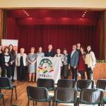 """Az Európai Nemzetiségek Ifjúsága """"Kick-Off"""" szemináriumot tartott Csolnokon / Die Jugend Europäischer Volksgruppen organisierte ein Kick-Off-Seminar in Tscholnok"""