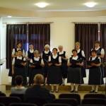 A Mözsi Német Nemzetiségi Klub Kórusa / Chor des Mescher Deutschen Nationalitäten Klubs