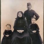 Anna Váradi: Andenken an die Familie Osbach aus Berien/Diósberény aus dem Jahre 1914