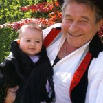 TrachtTag 2016: Hajosch/Hajós - Opa Paul und seine Enkelin Maja