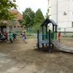 Új játszóteret vehetett át a bajai MNÁMK / Das UBZ Baje hat einen neuen Spielplatz
