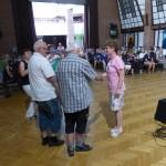 A világtalálkozó egyik központi helyszíne a bajai MNÁMK / Einer der Austragungsorte des Welttreffens ist das UBZ Baje