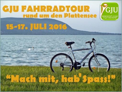 Plakat_GJU Fahrradtour