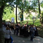 Prozession nach Weschni