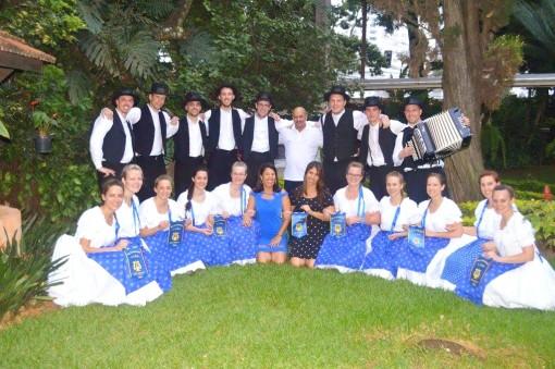 Saarer Tanzgruppe mit Brasilianischen Freunden  Org.