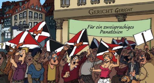 Képregény a kisebbségi nyelvekről
