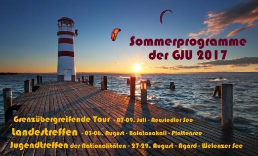 Sommerprogramme der GJU 2017