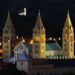 Székesegyház (Pécs) / Die Basilika (Fünfkirchen) (Fotó: Tám László)
