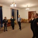 Baranyai táncokat táncoltak a Lenau Házban / Man tanzte Branauer Tänze im Lenau Haus