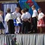 A varsádi Napraforgó Óvoda óvodásai / Die Kindergartenkinder des  Kindergartens Sonnenblume