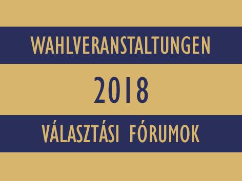 Wahlveranstaltungen_választási_programok