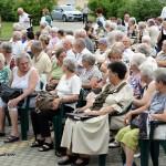 Das Publikum des Nationalitätenprogramms (Foto: István Schmidt)