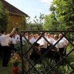 Eckenhaidi Férfikar / Männergesangsverein aus Eckenhaid (fotó/Foto: Károly Csorba)