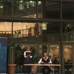"""Das Németh-Stix Duo bei der Eröffnung von  """"IN ZWEI WELTEN"""" in Berlin / A Németh-Stix duó Berlinben az """"IN ZWEI WELTEN"""" kiállítás megnyitóján"""