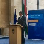 Fülöp Attila - ungarischer stellv. Staatssekretär für Minderheitenangelegenheiten / nemzetiségi és civil társadalmi kapcsolatokért felelős helyettes államtitkár