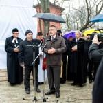 Auch LdU-Vorsitzender Otto Heinek erinnerte an die Schicksalsschläge, welche die Ungarndeutschen erlitten  / Heinek Ottó, az MNOÖ elnöke is megemlékezett a magyarországi németeket ért sorscsapásról