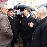Heinek Ottó, Dr. Latorcai Csaba, Tircsi Richárd és Árvay Attila (balról / von links)