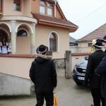 Tuskóhúzással búcsúztatták a farsangot Újhartyánban / Faschingszeit in Hartian mit Blochziehen beendet (Fotó: Dr. Szikszay Péter)