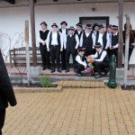Elbúcsúztatták a farsangot Újhartyánban / Der Fasching wurde in Hartian verabschiedet (Fotó: Dr. Szikszay Péter)