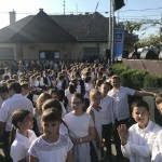 A gyerekek remekül érezték magukat a diósdi Szent Gellért Napok német nemzetiségi rendezvényén / Die Kinder amüsierten sich prächtig auf dem deutschen Nationalitätenfest bei den Sankt-Gerhard-Tagen in Orasch