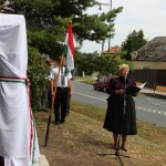 Megemlékezés Környén / Gedenkfeier in Kirne (Fotó: kornye.hu)