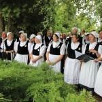 A Környei Német Nemzetiségi Dalkör / Der deutsche Nationalitätenchor von Kirne (Fotó: kornye.hu)