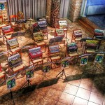 Zsuzsanna Ledenyi: Stillleben mit Harmonikas