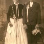 Alfred Manz: Hochzeitspaar aus Besing