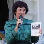 """Maria Miskovics stellte die Neuauflage der """"Tarjáni krónika"""" vor (Foto: I. F.)"""