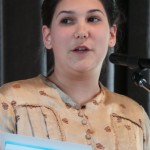 Szilvia Mirk / Mundart Mittelschule - Klasse 9-12 (Foto: I. F. / Neue Zeitung)