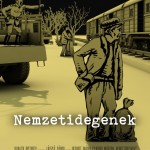A Nemzetidegenek c. film plakátja / Plakat des Films Außenseiter der Nation