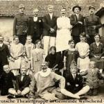 Ármin Handler: Deutsche Theatergruppe in der Gemeinde Werschend/Versend, 1927