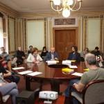 A Budapesti Goethe Intézet felvette a kapcsolatot a pécsi kultúra képviselőivel