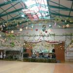 Der geschmückte Ballsaal - Foto aus 2010