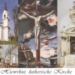 István Szőnyi: Lutherische Kirche in Hiewrkut/Keszőhidegkút