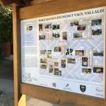 Az országos magyarországi német tanösvény a bajai MNÁMK területén / Der Landeslehrpfad der Ungarndeutschen auf dem Gelände des UBZ Baja