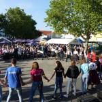 Spontanes Tanzhaus, weil die einstigen Heimatvetriebenen Tschardas tanzen wollten