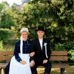 Ungarndeutscher Kulturverein Leinwar: Braut und Bräutigam