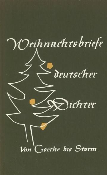 Briefe Von Goethe : Zentrum hu weihnachtsbriefe deutscher dichter